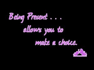 being-present